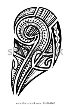 Samoan Tattoo Upper Arm Stock Vector (Royalty Free) 791709187 You are in the right place about Black And Gray Tattoos Tattoo Maori Brazo, Maori Tattoo Arm, Maori Tattoo Meanings, Hawaiianisches Tattoo, Samoan Tribal Tattoos, Tribal Sleeve Tattoos, Body Art Tattoos, Geometric Tattoos, Hand Tattoos