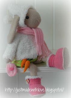 Just made with love by Antoinette: Wintersetje voor Willenein