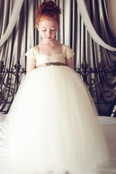 custom made with chiffon short sleeve tulle ball gown flower girl dress,US$110.00   Read More:     http://image1.nextdressin.com/index.php?r=custom-made-with-chiffon-short-sleeve-tulle-ball-gown-flower-girl-dress.html