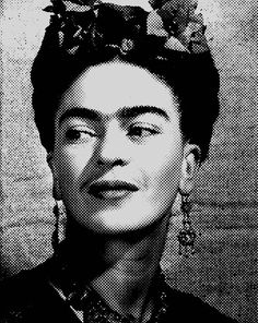 Frida Kahlo print poster photo pop art vintage artist feminist gift original cool modern contemporary home wall decor Pop Art Posters, Cool Posters, Poster Prints, Frankenstein, Professional Poster, Pilot, Photoshop Rendering, Hand Images, Historical Images