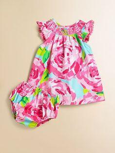 Lilly Pulitzer Kids - Infant's Bluey Dress & Bloomer Set - Saks.com