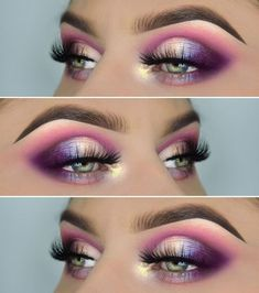 Einhorn-Look! Produkte :, Juvia's Place Masquerade Palette, pigmen… – Make-up Ideen Eye Makeup Tips, Makeup Goals, Skin Makeup, Makeup Inspo, Eyeshadow Makeup, Makeup Inspiration, Beauty Makeup, Makeup Ideas, Makeup Geek Pigment