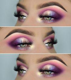 Einhorn-Look! Produkte :, Juvia's Place Masquerade Palette, pigmen… – Make-up Ideen Eye Makeup Tips, Makeup Goals, Skin Makeup, Makeup Inspo, Eyeshadow Makeup, Makeup Inspiration, Beauty Makeup, Makeup Ideas, Makeup Geek Pigment