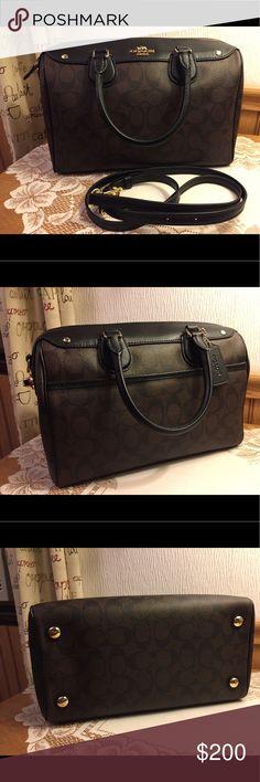 Coach Large Bennett Satchel Signature C Large Bennett satchel excellent shape. No signs of wear. No odors. Bags Satchels