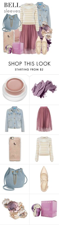"""""""I need to dream about it"""" by confusioninme ❤ liked on Polyvore featuring Bobbi Brown Cosmetics, M.i.h Jeans, Casetify, Karen Millen, INC International Concepts, Nine West, Cabinet and Bulgari"""