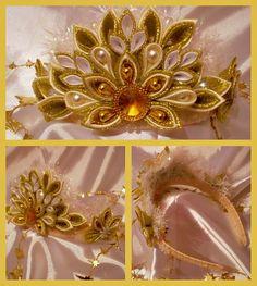 Одноклассники Ribbon Flower, Diy Ribbon, Ribbon Work, Diy Flowers, Fabric Flowers, Irish Dance, Princesses, Paper Art, Masks