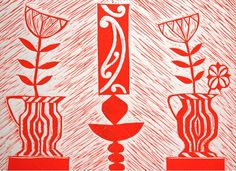 Cerisse Palalagi, Wikitoria, Relief/Lino on 250 x 305 mm paper, from an edition of 20, 2009. NZ$245 incl GST. Maori Designs, London Art, Mark Making, Art Festival, Printmaking, Paper Flowers, Paper Art, Hand Weaving, Art Gallery