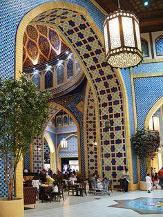 Ibn Battuta Shopping Mall, Dubai. Now that is shopping in style.