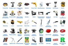 workshop tools list with pictures pdf