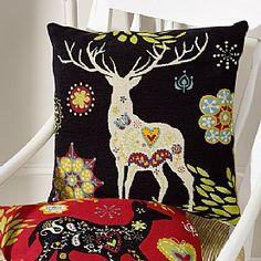 Folk Art Cushion