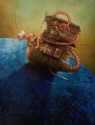 bibliotecario fantástico... buscando lectores. carol Heyer