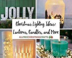 Let your home shine this year with these Christmas Lighting Ideas: Lanterns, Candles, and More! These Christmas lighting ideas are too good to miss. Happy Christmas Day, Christmas Angels, Christmas Home, Ideas Lanterns, Candle Lanterns, Candles, Hanging Christmas Lights, Holiday Lights, Christmas Light Installation