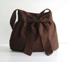 Sale 10 Linen Bag Shoulder bag Diaper Tote Travel by tippythai