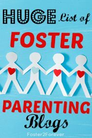 Check out this HUGE list of over 80 foster care blogs by foster parents!!!