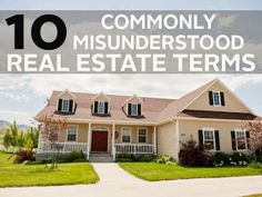 Cornerstone Real Estate Professionals: 10 Commonly Misunderstood Real Estate Terms
