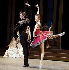 "<<Ekaterina Krysanova and Semyon Chudin in ""Don Quixote"" at the Royal Opera House, London # Bolshoi Ballet # The Bolshoi Ballet season opens with the London premiere of a new restaging of Alexei Fadeyechev's staging of Petipa's ""Don Quixote"" at the Royal Opera House, 25-28 July 2016>>"