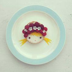 ♡ playing with food -Sandra Van den Broek-