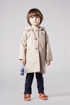 Girl's flycatcher raincoat by Caramel Baby & Child