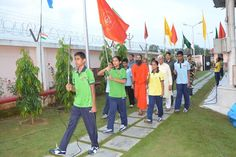 celebration of 69th independence  day at patanjali yogpeeth ,#Haridwar #happyindependenceday