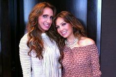 Nuevas fotos : Thalia le presumió su elasticidad a Lili Estefan (Univision) | Thalia Diva - Habitame Siempre