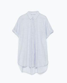 Image 7 of FRONT PLEAT SHIRT from Zara
