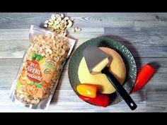 Vegansk hårdost på cashewnötter Vegan Keto, Agar, Blenders, Spirulina, Vegan Cheese, Tahini, Oatmeal, Dairy, Homemade