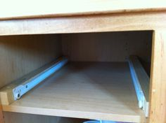 Ana White | Build a Wood Pullout Cabinet Drawer Organizer | Free and Easy DIY Project and Furniture Plans