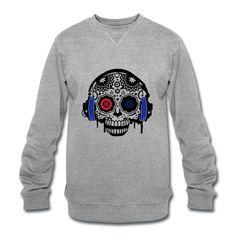 Sound Skull Frenchcore - Pullover für Männer Männer Sweatshirt von Dickies Normal Sweatshirt mit Rundhalsausschnitt von Dickies. Kragen, Bündchen und Saum aus elastischem Rippstrick. Klassisch geschnitten. 100% Baumwolle. 52,98 € inkl. MwSt. EU, zzgl. Versand Sweatshirts, Long Sleeve, Sleeves, Sweaters, Mens Tops, T Shirt, Fashion, Products, Cotton