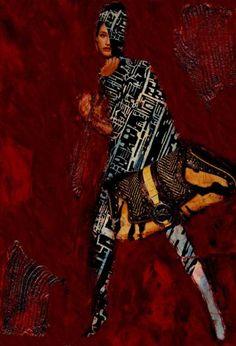 "Saatchi Art Artist CARMEN LUNA; Collage, ""35- Tesoros del COLLAGE."" #art"