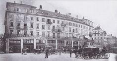 Sprüngli und Paradeplatz 1885 Louvre, Street View, History, City, Travel, Vintage, Switzerland, Past, Pictures