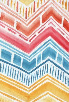 pretty pattern pretty patterns chevron patterns color patterns pottery painting art techniques
