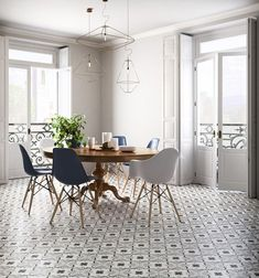 Look We Love Traditional Table Plus Modern Chairs Apartment