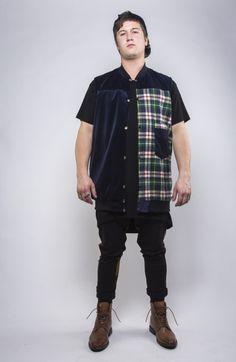 M Improvise reversible vest Button Down Shirt, Men Casual, Vest, Mens Tops, Shirts, Clothes, Fashion, Outfits, Moda