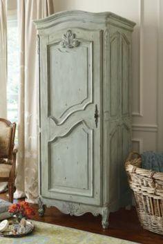 Fantine Linen Cabinet - Antique Linen Cabinet, Petite Linen Cabinet, Petite Cabinet | Soft Surroundings