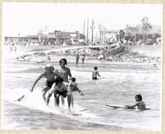 Surfer Dudes, Galveston, TX circa 1970