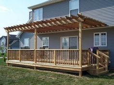 deck | Pergola and deck 2 picture by brookscreek - Photobucket