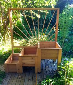 garden boxes Pretty Privacy Fence Planter Boxes Ideas To