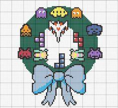 galaga cross stitch pattern - Google Search