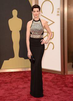 Anne Hathaway no Oscar 2014