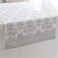 A perfect table can't be complete without a Harman Christmas Metallic Baroque Cotton Oversized Table Runner. Beautifully embroidered in an elegant silver design, this holiday decor staple features intricate cut-work details, sure to impress family & friends this holiday season.    Whether you're looking for stocking stuffers, Secret Santa presents, festive Christmas decor or even gift cards, we have a huge selection of unique holiday stuff to make your days and nights merry and bright. Secret Santa Presents, Knife Block Set, Event Themes, Cut Work, Holiday Looks, Christmas Decorations, Holiday Decor, Merry And Bright, Gift Cards