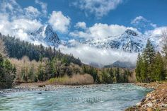 Mt. Index and the North Fork of the Skykomish River