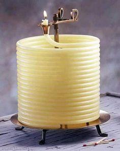 Amazing Candle ... Burning time 144 hours