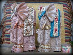 Conjunto elefante alto 22x13 cm Diy And Crafts, Elephant, Ideas, Design, Home Decor, Pintura, Art, Elephants, Manualidades