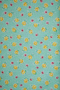 Yuwa Atsuko Matsuyama mint green yellow roses 30's collection half yard of reproduction fabric by SpunSugarQuilts on Etsy https://www.etsy.com/listing/200554216/yuwa-atsuko-matsuyama-mint-green-yellow
