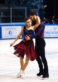 2016 French Nationals Gabriella Papadakis & Guillaume Cizeron