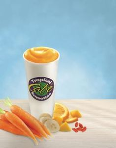 Get up and Goji from Tropical Smoothie Cafe! yummmm
