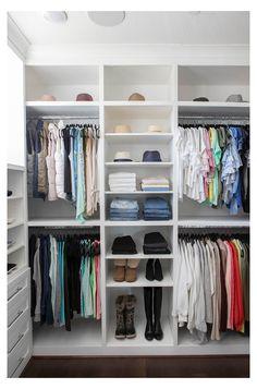 Small Master Closet, Master Closet Design, Make A Closet, Closet Redo, Closet Tour, Master Bedroom Closet, Kid Closet, Closet Storage, Closet Ideas