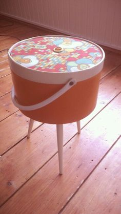 Nostalgie. Sewingbox seventies