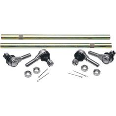 """MOOSE RACING TIE ROD ASSEMBLY UPDGRAGE KIT.  Upgrade from 10mm tie-rod ends that are prone to failure to Moose's heavy-duty 12mm style tie-rod assemblies.  """"VISIT SITE"""" FOR ALL INFO."""