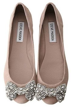 Steve Madden bow flats - ADORABLE!